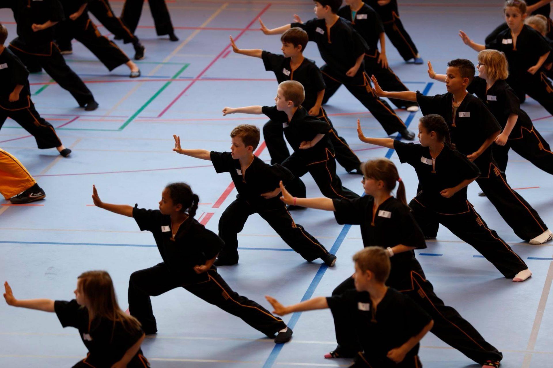 Kung Fu Prüfung Bogenstand