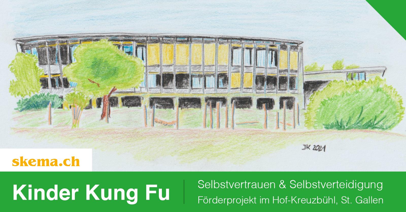 Selbstvertrauen & Selbstverteidigung – Kung Fu Projekt im Hof-Kreuzbühl, St. Gallen