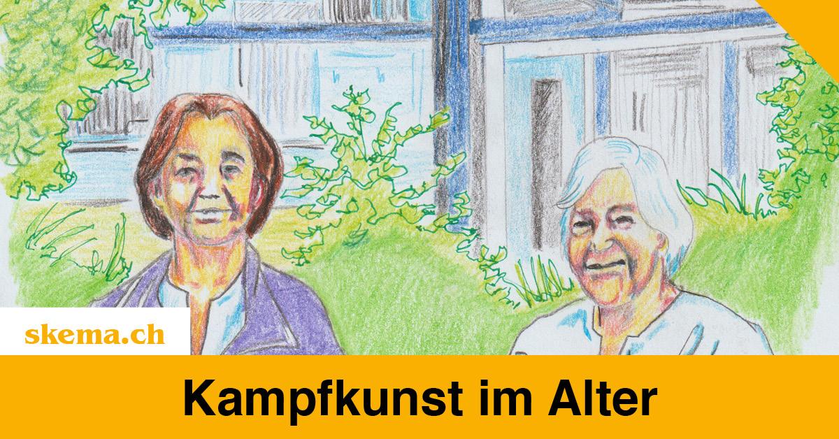 Kampfkunst im Alter, Projekt Kampfkunst und Selbstverteidigung im Altersheim Rotmonten, St. Gallen
