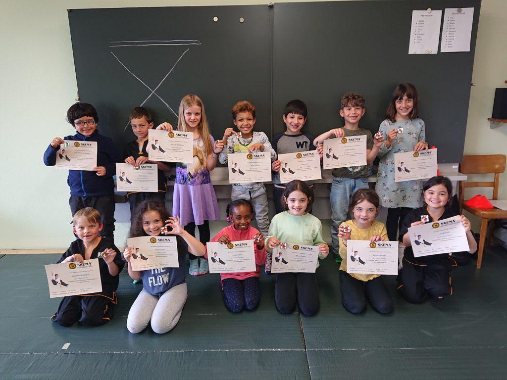 Kinder Kung Fu - Kampfkunst an öffentlichen Schulen - 2